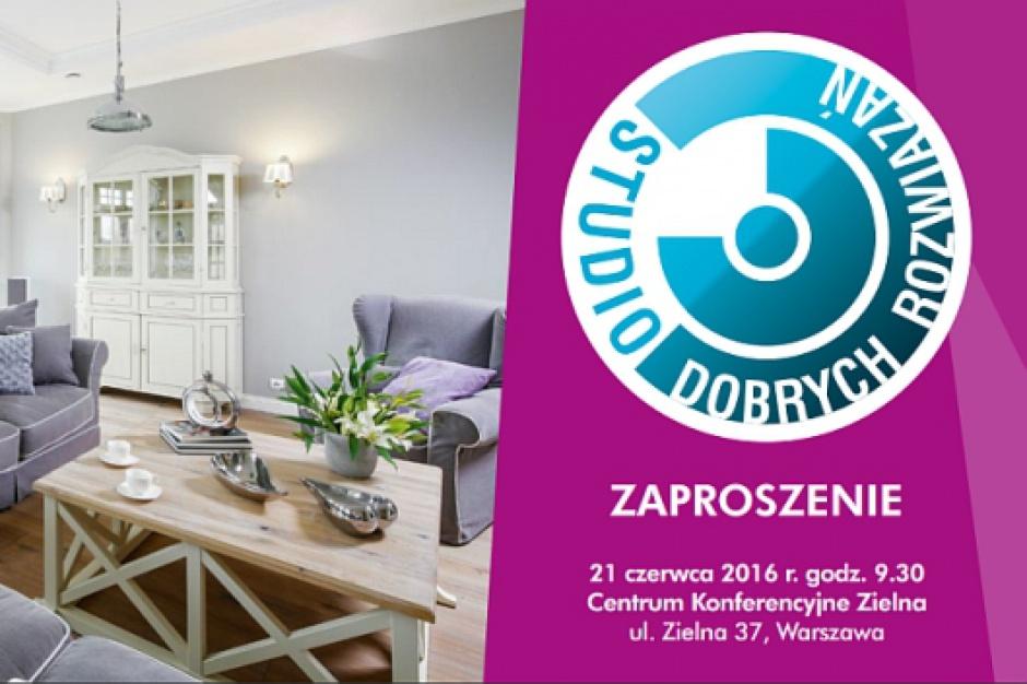 Studio Dobrych Rozwiązań - zapraszamy architektów do Warszawy!