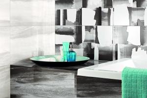 Łazienka biało-czarna. 3 sposoby na płytki ceramiczne