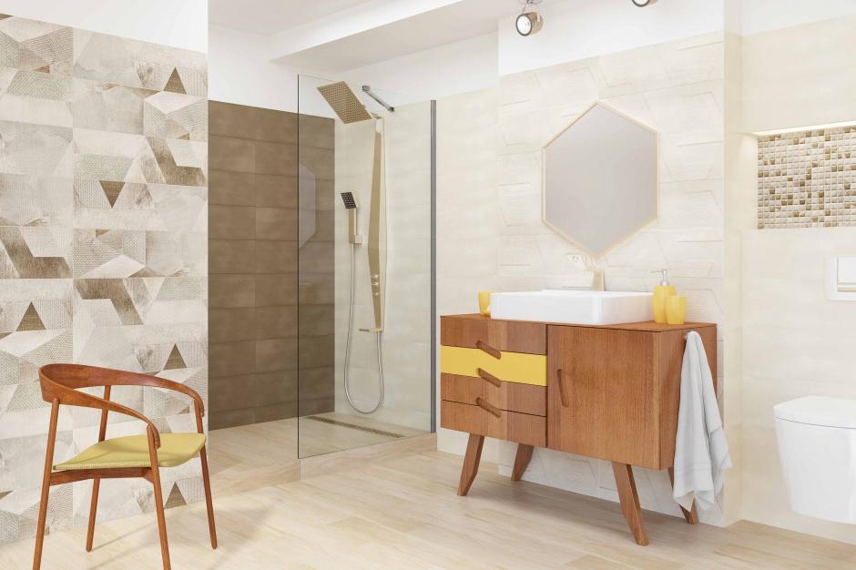 Płytki jak tkaniny – nowa kolekcja do łazienek