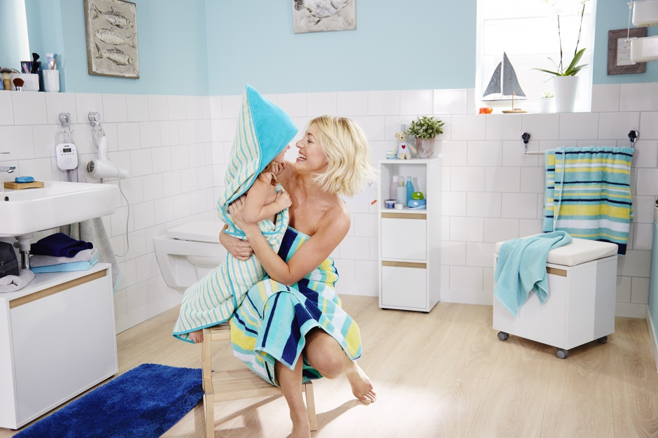Łazienka przyjazna dziecku – bezpieczeństwo i wygoda