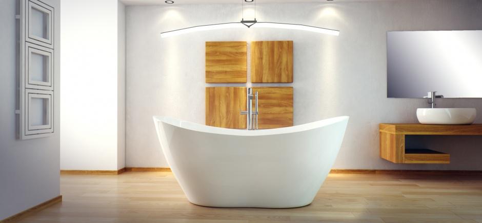 Wanna wolnostojąca - must have modnej łazienki!
