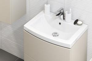 Praktyczna łazienka – nowa seria mebli i ceramiki