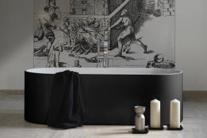Modne wanny – 10 modeli z krawędziami slim