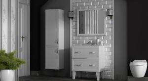 Klasyczne meble łazienkowe – nowa kolekcja w bieli