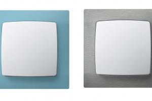 Kolor w łazience – nowa seria ramek włączników