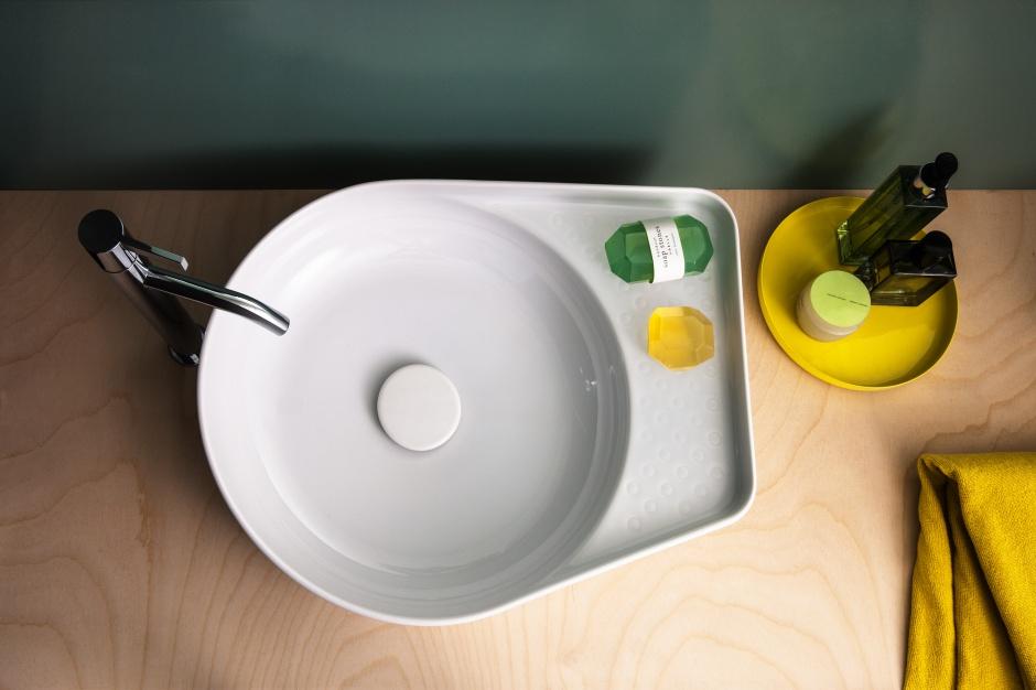 Modna umywalka – nowość projektu Konstantina Grcica