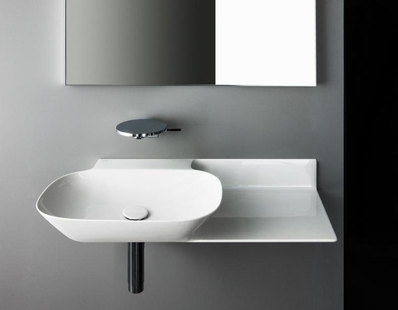 Designerskie umywalki – modele z cienkimi krawędziami
