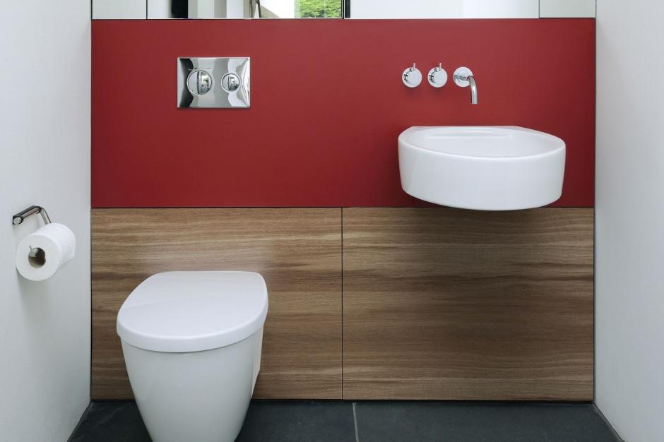 Zabudowa łazienki - ściany z dobrą ochroną