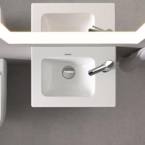 Nowoczesna łazienka - designerska seria projektu Philippe Starcka