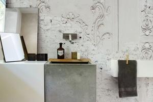 Tapeta w łazience: wytrzymałe i niezwykłe rozwiązania