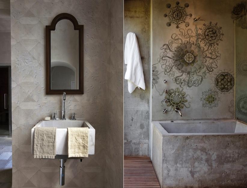 Aranżujemy Tapeta W łazience Wytrzymałe I Niezwykłe