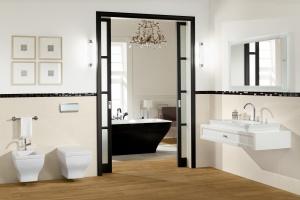 Klasyczna łazienka: postaw na eleganckie meble i ceramikę