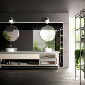 Łazienka w stylu industrialnym: zobacz niezwykły projekt