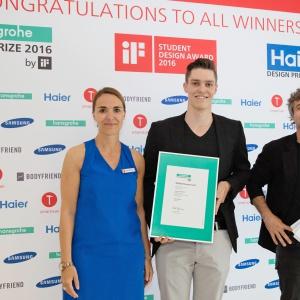 Hansgrohe nagrodziło utalentowanych projektantów