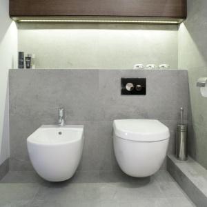 Szara łazienka: piękne zdjęcia z polskich domów