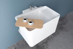 Praktyczna umywalka: wiele funkcji w jednym modelu