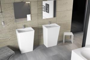 Modna umywalka: wybierz model wolno stojący