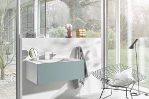 Kolor w łazience: postaw na jasny błękit