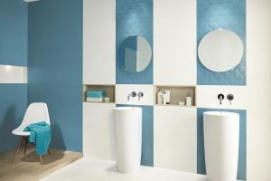 Okrągłe lustro w łazience: zobacz gorący trend