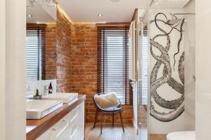 Inspirujemy Biała łazienka Zobacz Wnętrze Z Czerwoną