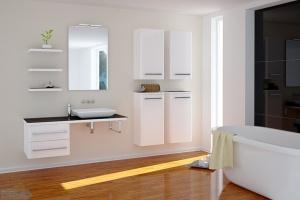 Meble do łazienki: postaw na biel
