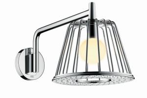 Prysznic i lampa w jednym? Zobaczcie niesamowity projekt