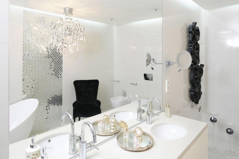 Inspirujemy łazienka W Stylu Glamour 12 Zdjęć Z Polskich