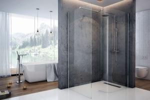 Strefa prysznica: z brodzikiem czy bez?