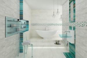 Łazienka w morskim stylu: piękne kolekcje płytek