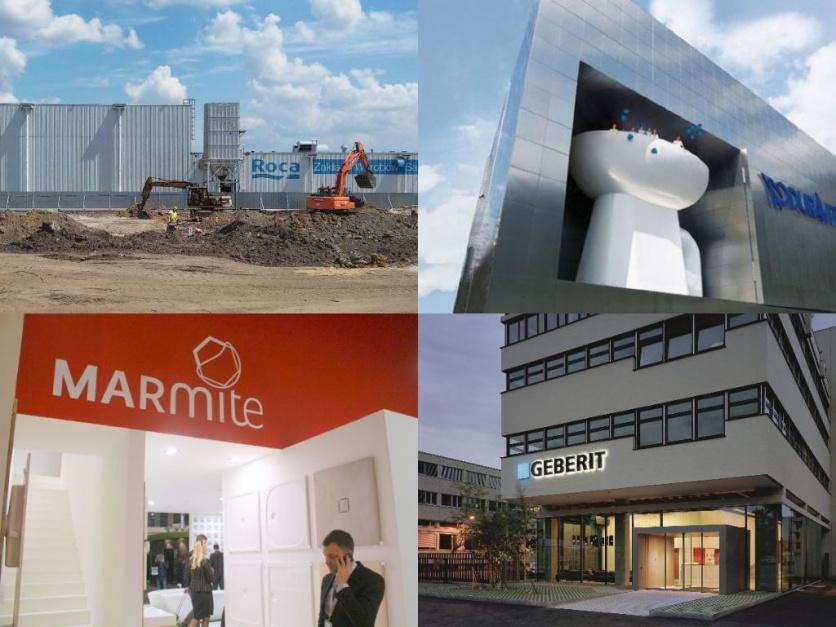 Ruch na rynku wyposażenia łazienek: fuzje i przejęcia I połowy 2016 r.
