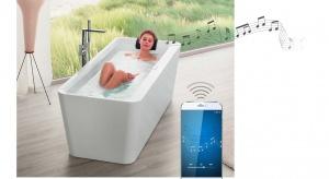 Relaks w kąpieli: nowoczesny system zamieniający wannę w głośnik