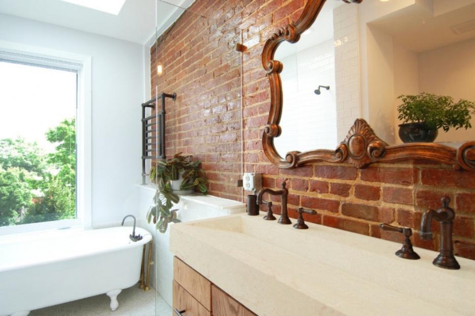 Designerskie i trwałe: umywalki z konglomeratu