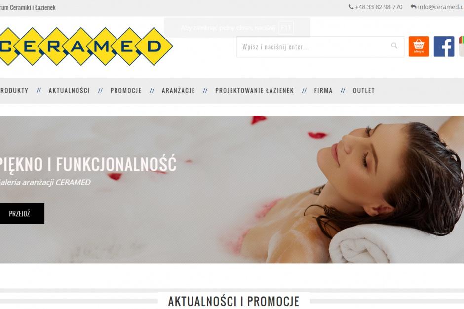 Ceramed odświeża stronę www