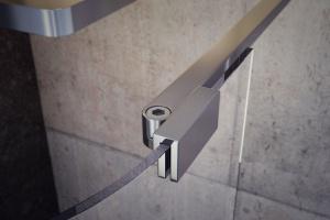 Modna strefa prysznica: nowoczesna kabina z serii Walk-In