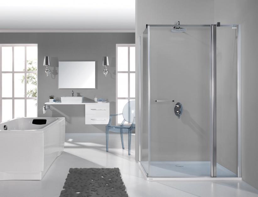 Ekologiczna kabina prysznicowa: wybierz szkło ze specjalną powierzchnią