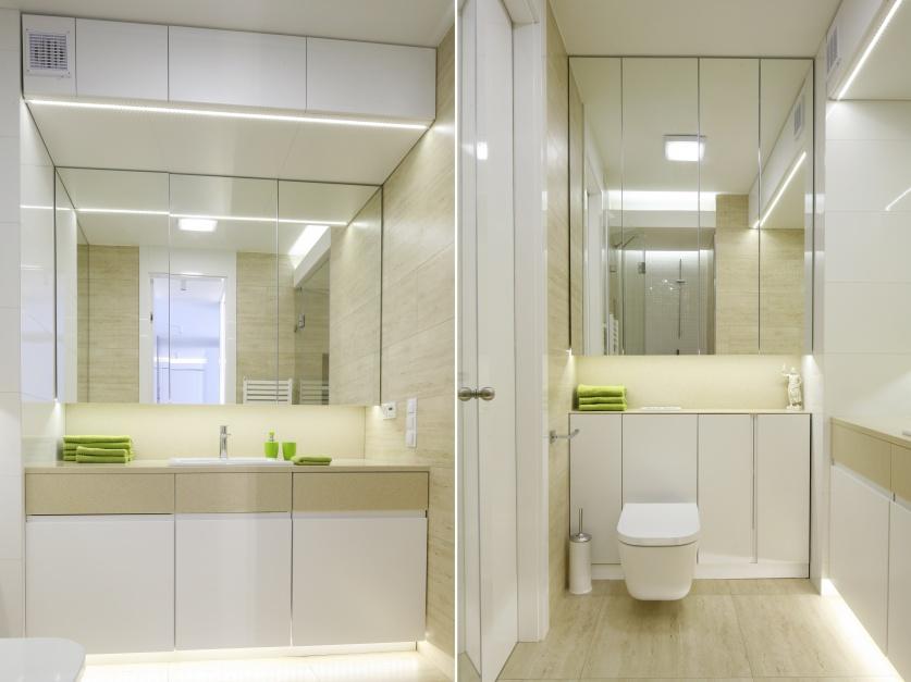 Radzimy Mała łazienka Poznaj Praktyczne Triki Optyczne