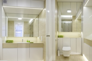 Mała łazienka: poznaj praktyczne triki optyczne
