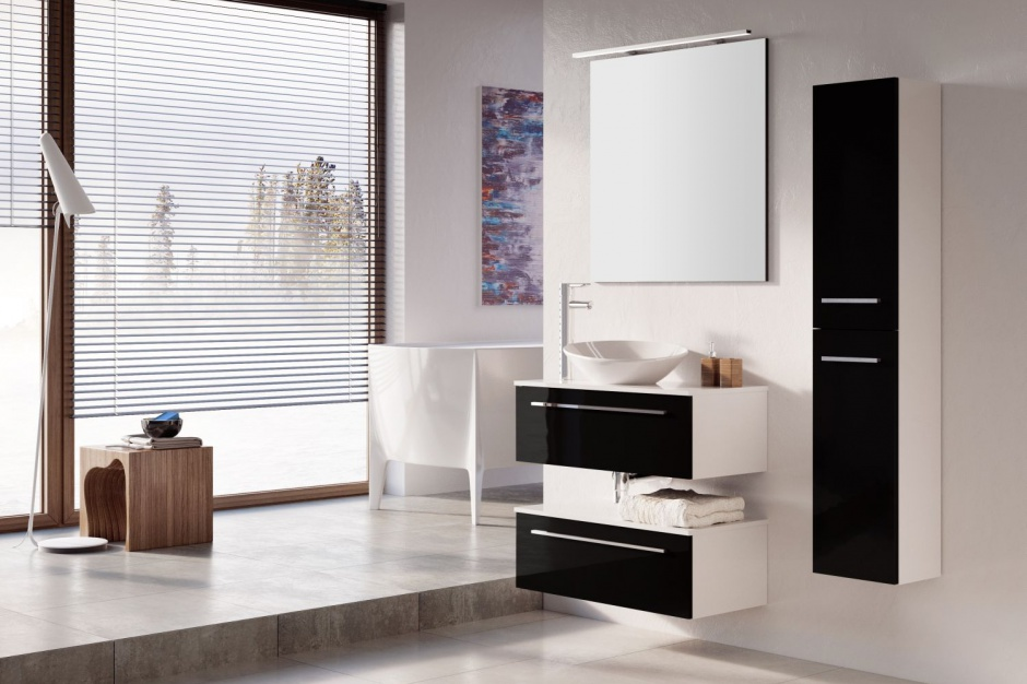 Nowoczesna łazienka: kolekcja modnych mebli