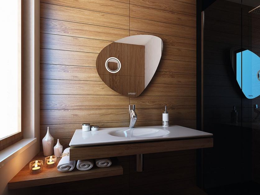 Lustro w łazience: postaw na efektowny design