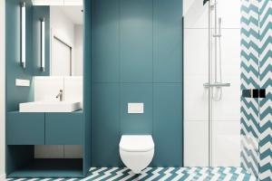 5 pomysłów na łazienkę w kolorach lata