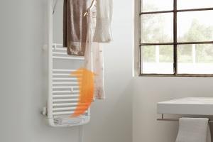 Grzejnik łazienkowy z plusem