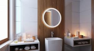 Lustro w łazience: nowoczesny model z oświetleniem