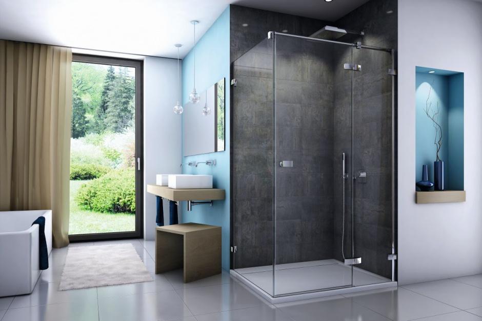 Nowoczesna kabina prysznicowa: prosty design i praktyczna powłoka