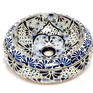 Umywalka nablatowa - piękna ręcznie malowana misa