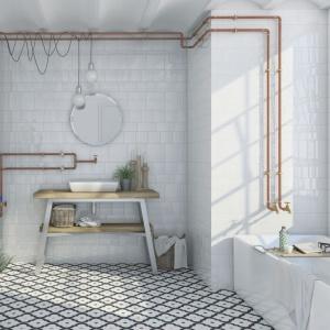 Płytki w łazience: wybierz wzorzyste kafle