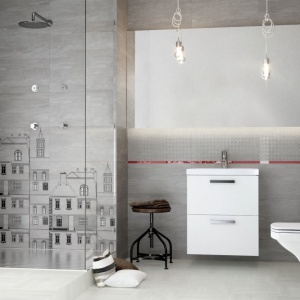 Łazienka w stylu loft: dobierz do niej płytki