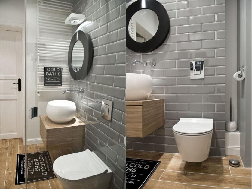 Radzimy Szare ściany W łazience 15 Pomysłów Z Polskich Domów