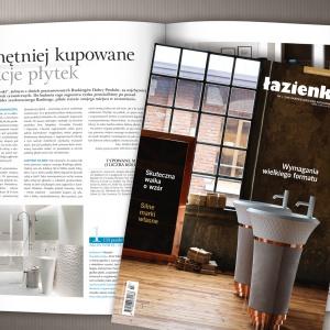 Nowy numer Łazienki (3/2016) już w sprzedaży