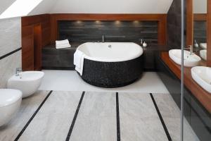 Przytulna łazienka na poddaszu - zobacz gotowy projekt