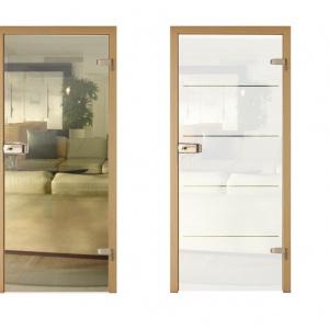 Drzwi do łazienki - wybierz model ze szklanym skrzydłem